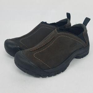 Keen Womens Kaci Winter Brown Slip On Shoes 6.5